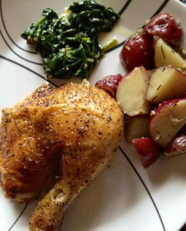 Best Roasted Chicken You'll Ever Have!!. Photo by Mrs. Lumpy