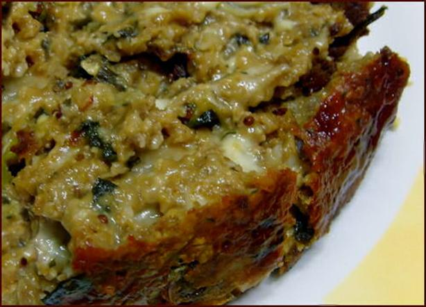 Vegetarian Meatloaf - Healthy. Photo by Kitty Z