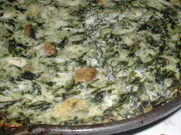 Crustless Dill Spinach Quiche With Mushrooms And Cheese Recipe - Food ...