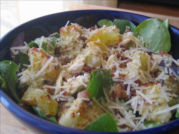 Warm Chicken, Bacon & Potato Salad. Photo by pattikay in L.A.