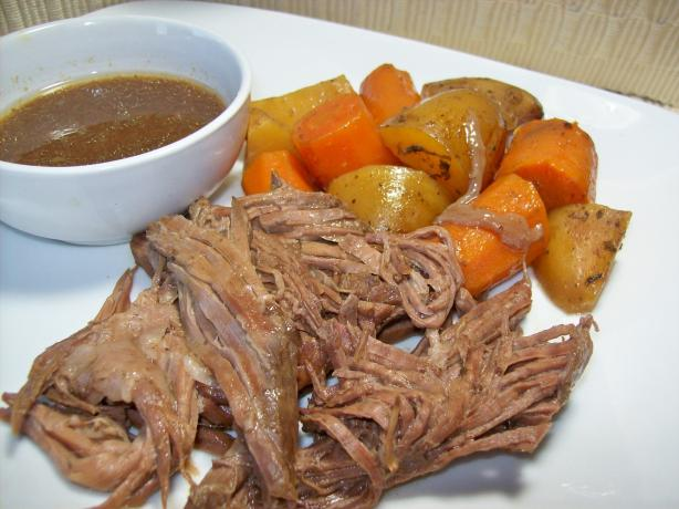 My Really Good Beef Roast (Crock Pot). Photo by Chef shapeweaver