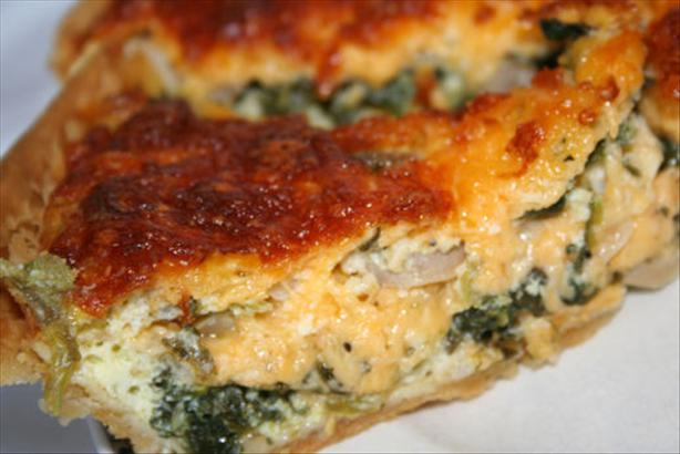 Spinach And Feta Quiche Recipe - Food.com