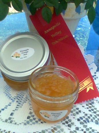 Award Winning Pineapple Preserves. Photo by Diana #2