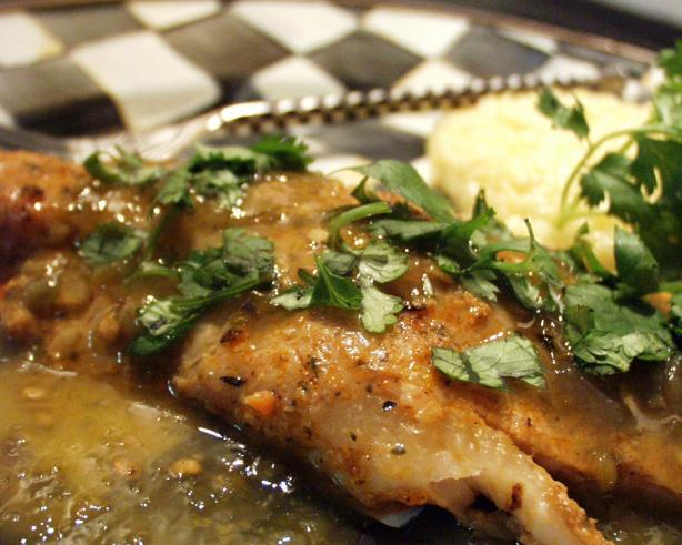 Blackened fish with salsa verde low carb recipe for How many carbs in fish