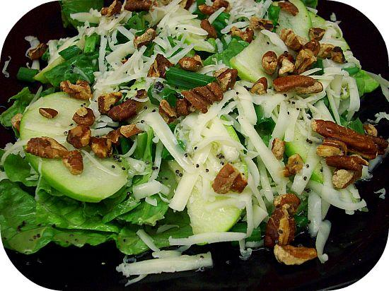 ... Toasted Pecan Salad With Honey Poppy Seed Dressing. Photo by diner524