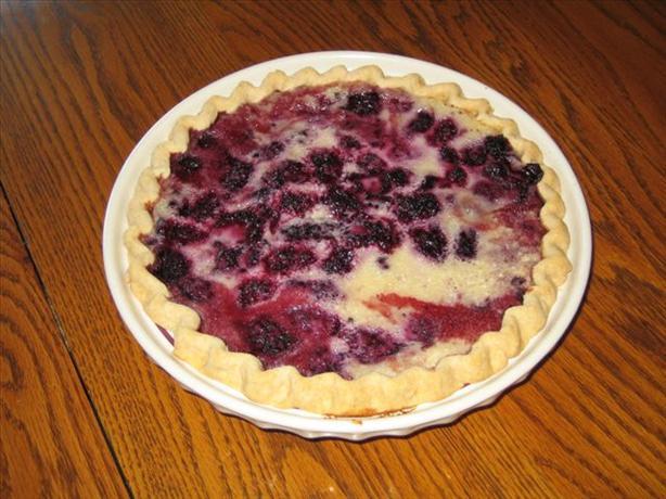 Raspberry Cream Pie. Photo by I_luv_sweets
