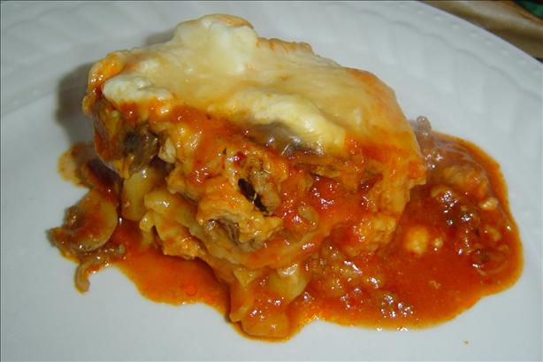 Slow Cooker Lasagna. Photo by The Left Handed Chef