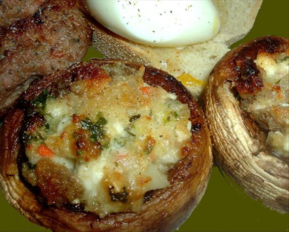 Mushrooms Stuffed With Feta Cheese And Garlic Recipe - Food.com