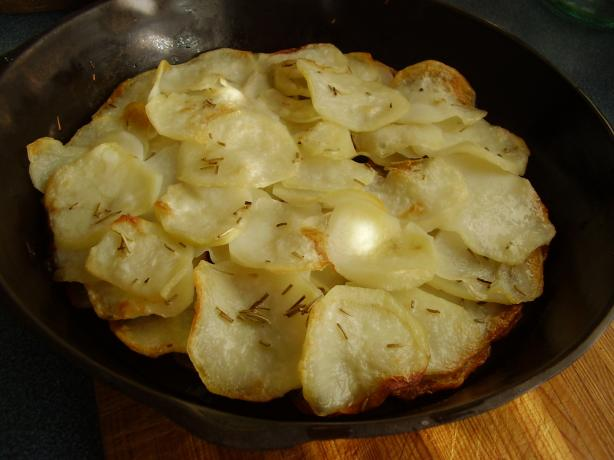 Potato Galette. Photo by NoraMarie