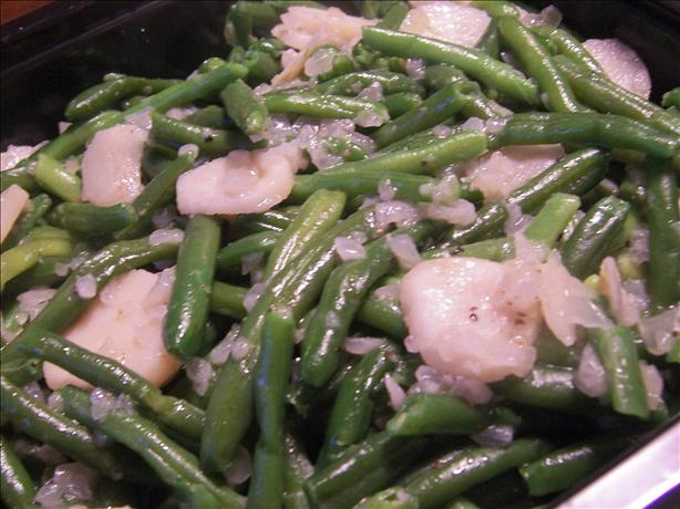 Green Beans With Water Chestnuts. Photo by *Parsley*
