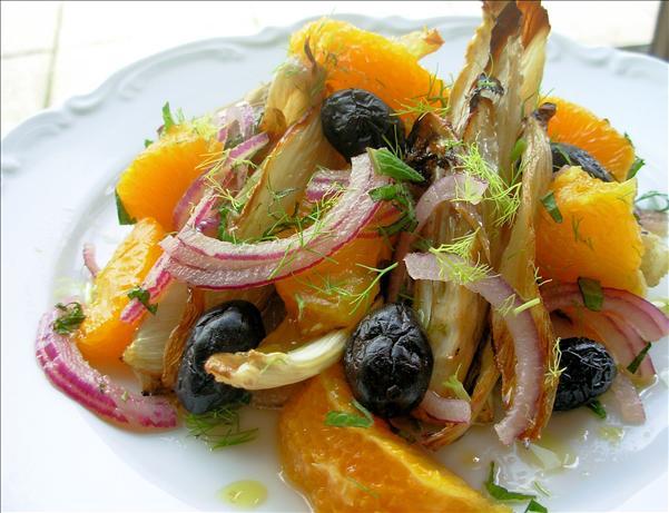Spanish Charred Fennel, Orange And Olive Salad Recipe - Healthy.Food ...