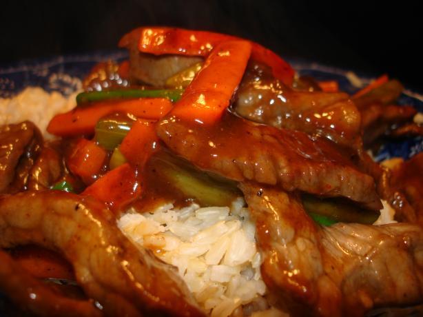 Spicy Szechuan Beef Recipe Food Com