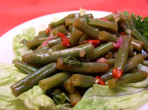 Spanish Green Bean Salad. Photo by Bayhill