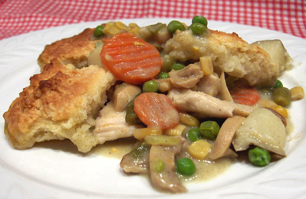 Chicken Pot Pie With Buttermilk Biscuit Crust Recipe - Food.com