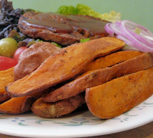 Cajun Spiced Sweet Potato Wedges Recipe - Food.com