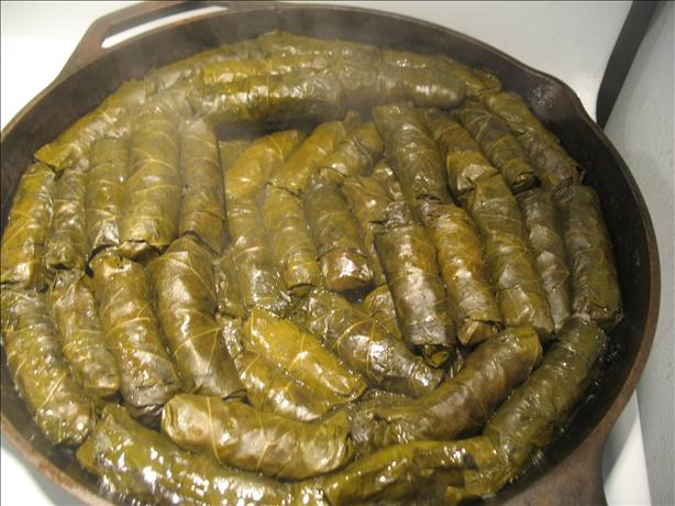 Dolmades - Stuffed Grape Leaves. Photo by ThatSouthernBelle