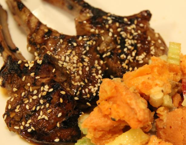 Spiced Lamb Chops. Photo by Leggy Peggy