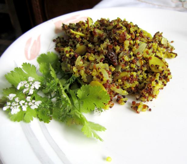 Moroccan Style Quinoa Recipe - Low-cholesterol.Food.com