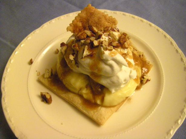 Deconstructed Banana Cream Pie & Bananas Foster Variation. Photo by ...