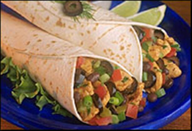 Easy Chicken Salsa Wraps (Stove Top or Crock Pot) easy fast recipe