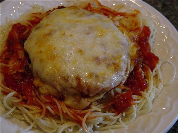 Quick and Easy Chicken Parmesan. Photo by janrj123