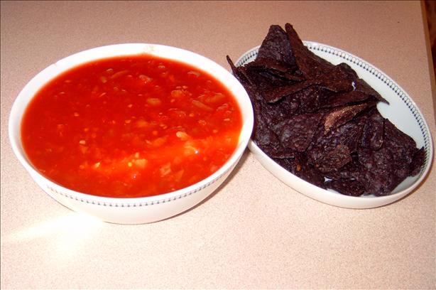 how to make chunky salsa