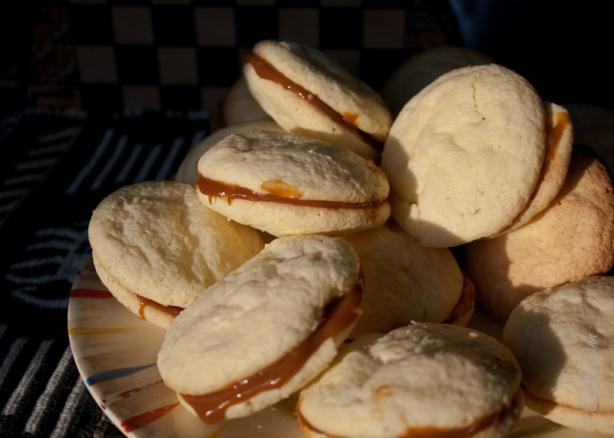 Alfajores An Argentinean Dulce De Leche Sandwich Cookie) Recipe - Food ...
