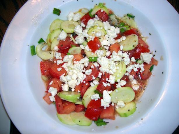 zucchini pfanne more summer salad cucumber zucchini and tomato salad ...