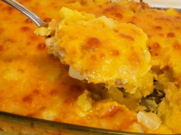 Cheesy Zucchini Casserole. Photo by *Parsley*