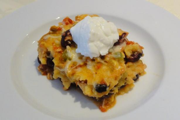 Chicken, Black Bean, And Tortilla Casserole Recipe - Food.com