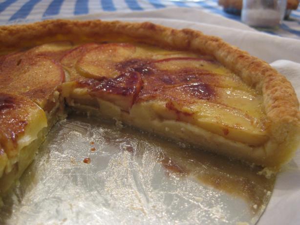 Apple Custard Tart. Photo by HerbalElf