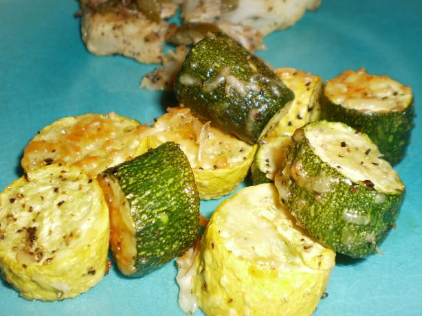 Roasted Zucchini and Yellow Squash. Photo by breezermom