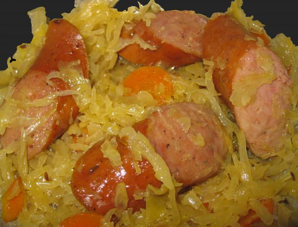 polish sausage and sauerkraut Car Tuning