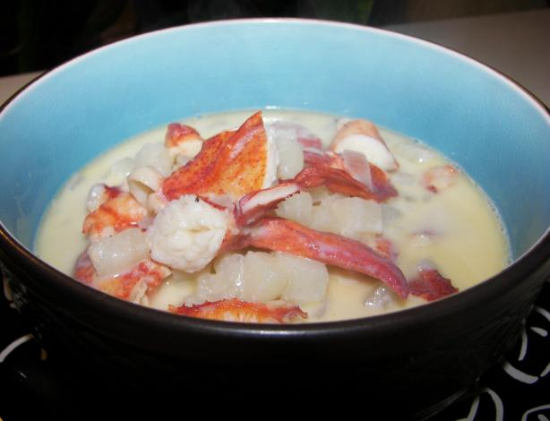 Old Style Lobster Chowder. Photo by Baby Kato