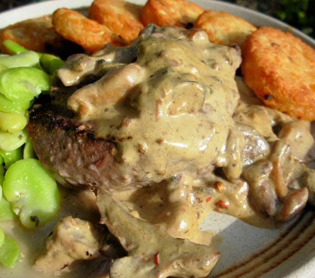 Porterhouse Steak With Whisky Mushroom Sauce Recipes — Dishmaps