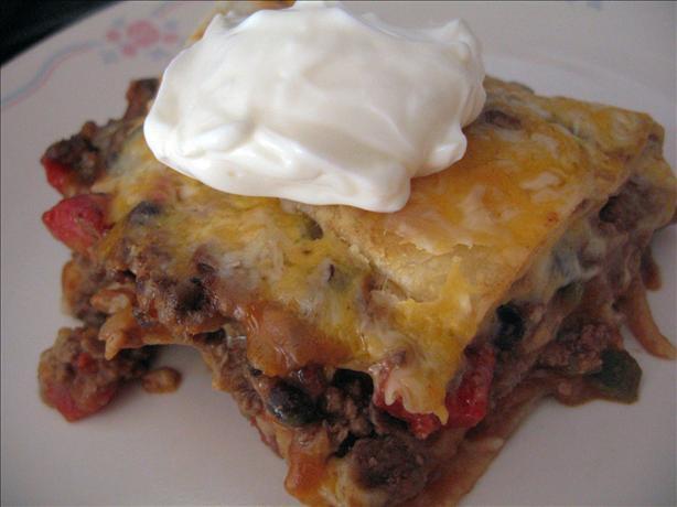 Taco Lasagna. Photo by Brenda.