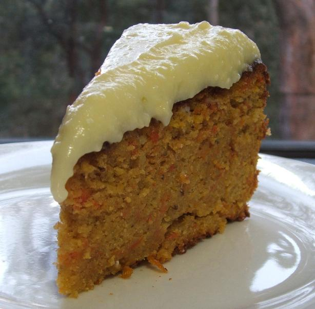 Swiss Carrot Cake With Mascarpone Icing. Photo by Fairy Nuff