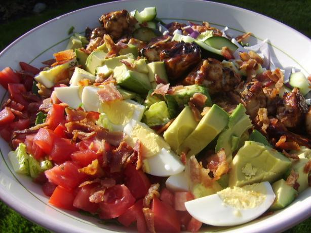Barbecue Chicken Cobb Salad. Photo by LifeIsGood
