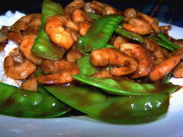 Shrimp With Snow Peas. Photo by **Jubes**