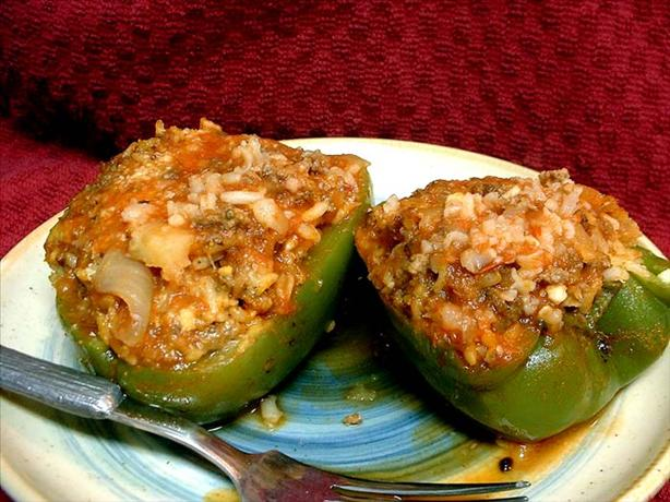 Mom's Stuffed Bell Peppers. Photo by VickyJ