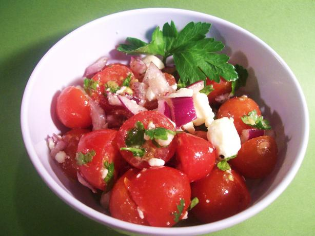 Tomato Feta Salad. Photo by Sharon123