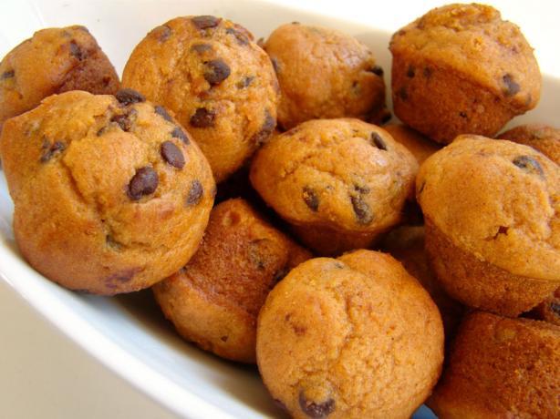 Http Www Food Com Recipe Lite Or Light Pumpkin Chocolate Chip Muffins