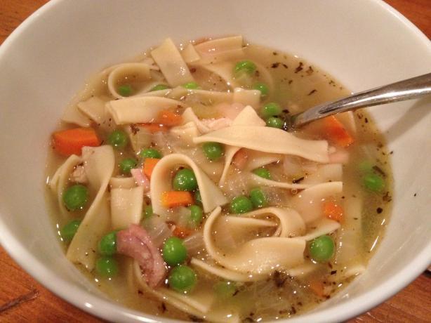Turkey Noodle Soup. Photo by Waverly