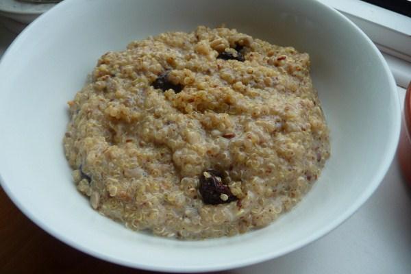 Quinoa Breakfast Cereal. Photo by Tea Jenny