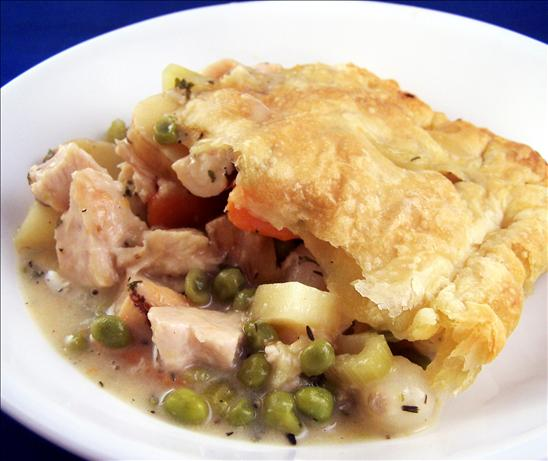 Low Fat Chicken Pot Pie With Puff Pastry! Recipe - Food.com