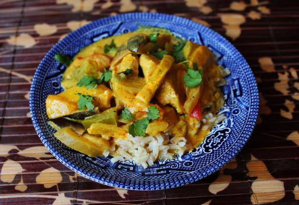 Chicken and Mango Curry. Photo by Monkeystyle