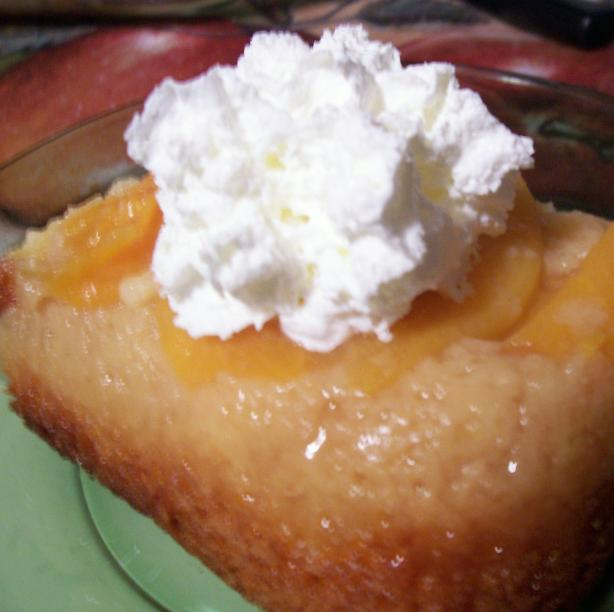 Peach Upside-Down Cake. Photo by lauralie41