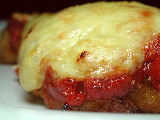 My Chicken Parmigiana With Homemade Pasta Sauce. Photo by Chef floWer