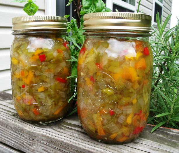 Hot Pepper Relish. Photo by Maryland Jim