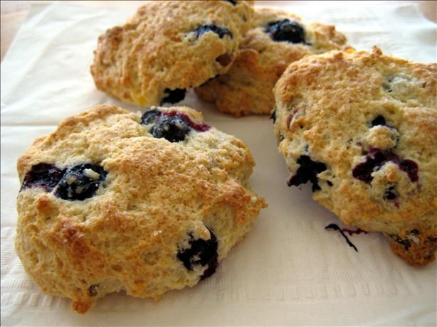 Low-Fat Blueberry Scones Using Heart Healthy Bisquick Mix) Recipe